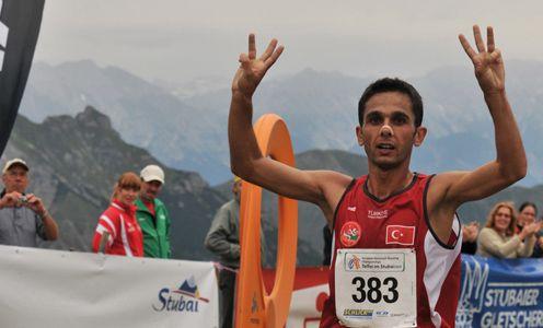 Ahmet Arslan (Tur) a Telfes 2009 vince il suo (momentaneo) 3° titolo europeo