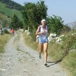 Alice Gaggi, vincitrice della prima prova, oggi buon quarto posto