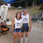 I vincitori Francesca Badano e Antonio Molinari